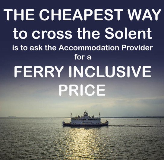 Ferry Inclusive Holidays on the Isle of Wight