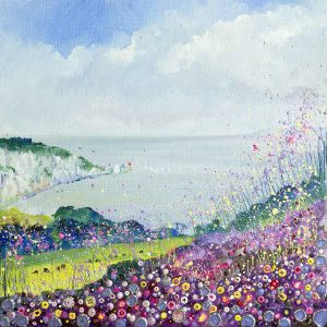 The Needles Alum Bay Isle of Wight painting