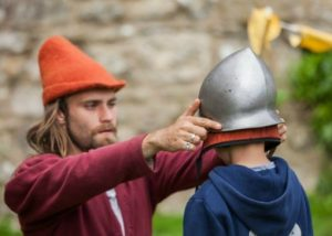 Knights Apprentice Carisbrooke Castle Isle of Wight