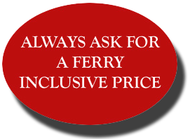 ferry inclusive price