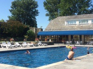 Appuldurcombe Gardens self catering holiday caravans apartments camp site campint touring Pool Image